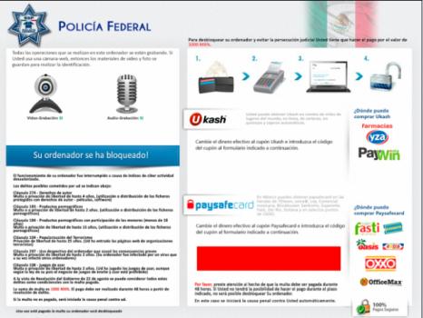 «El virus de la policía» Región 4: La expansión del Ransomware en Latinoamérica