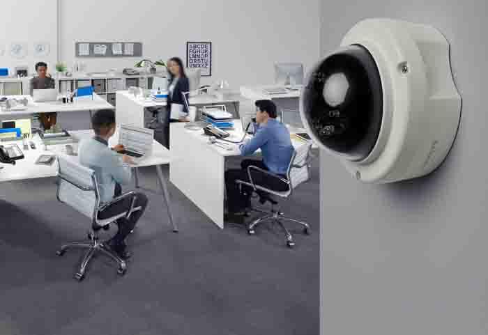 LR Cámara en Domo Interior con Visión Nocturna a 1080p LCAD03FLN 4