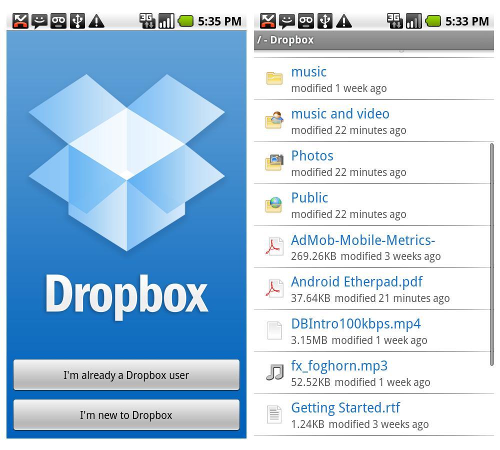 Dropbox-Android