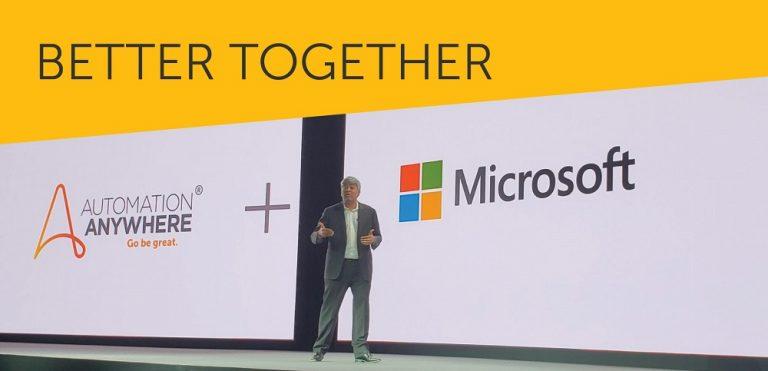 Automation Anywhere anuncia colaboración estratégica con Microsoft para avanzar la automatización inteligente
