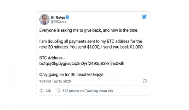 Tenable alerta sobre fraude masivo de criptomonedas en cuentas de Twitter