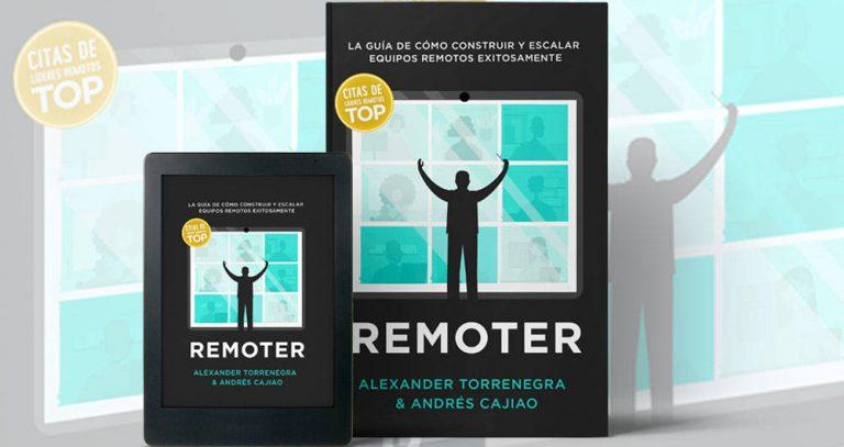 Presentan libro REMOTER: Los puntos clave para adoptar exitosamente el teletrabajo de forma permanente