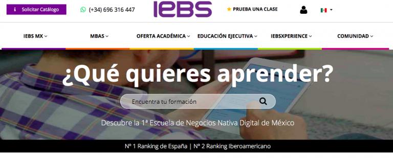 IEBS Business School y UTEL, las instituciones educativasonline líderes del mercado hispano cierran alianza