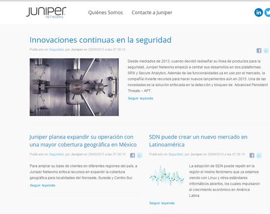 juniper blog